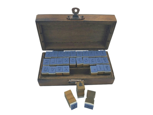 Stamp Set - Upper Case