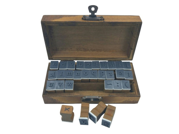 Stamp Set - Lower Case