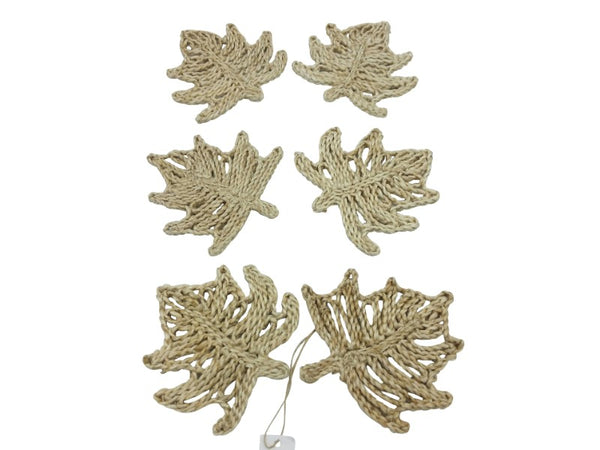 Coasters - Leaf - Set of 6