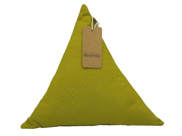 Cushion - Triangle - Moss Green