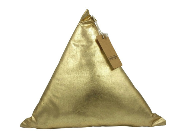 Cushion - Triangle - Gold