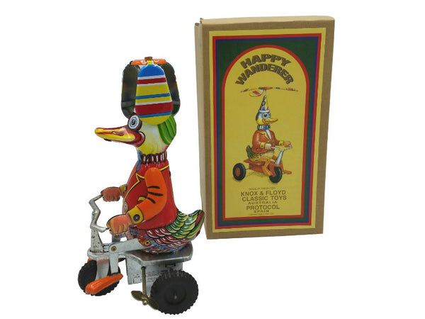 Tin Toy - Duck on Trike
