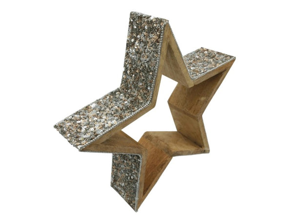Glitter Star - Large, Small