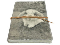 Journal - Canvas - Hen, Dog, Reindeer, Rabbit, Black Parrot