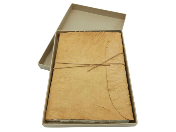 Journal - Natural Leather - Large