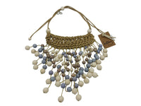 Necklace - Fringed, Beaded