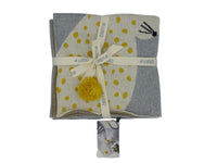 Baby Blanket - Yellow Bunny