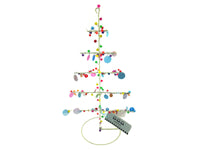 Christmas Tree - Wire/Sequins