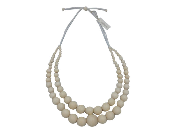 Necklace - Blonde Timber