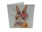 Greeting Card - Pretty Bunny