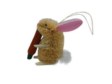 Hanging Decoration - Rabbit - Carrot, Leaf