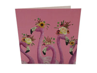 Greeting Card - Flamingo Ladies