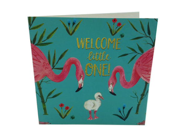 Greeting Card - Welcome Little One