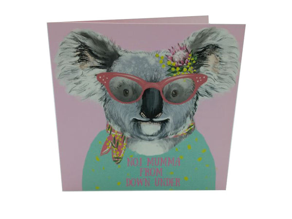 Greeting Card - Mumma From Down Under