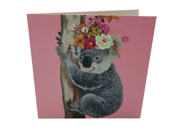 Greeting Card - Happy Koala