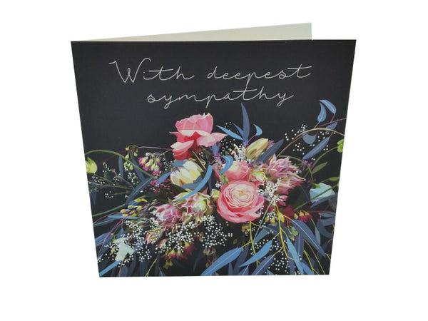 Greeting Card - With Deepest Sympathy