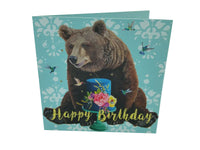 Greeting Card - Bear Birthday