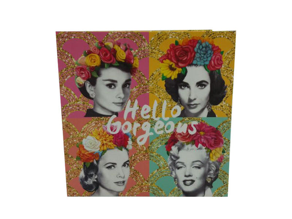Greeting Card - Golden Age Gorgeous