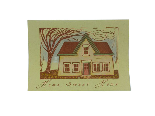 Greeting Card - Home Sweet Home