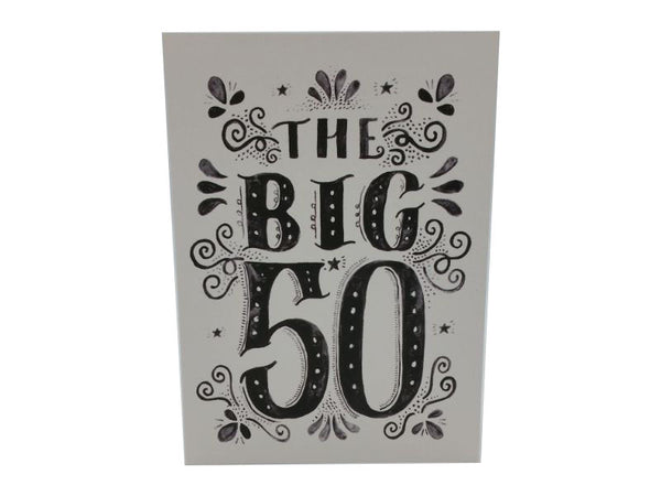 Greeting Card - The Big 50