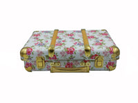 Case - Mini Brief Case - Rose Garden, Chloe print