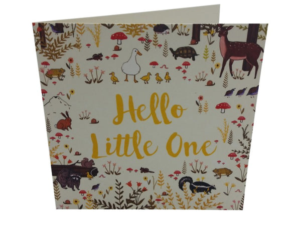 Greeting Card - Hello Little One