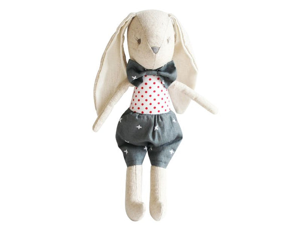 Doll - Linen Baby Toy Bunny - Louie, Pearl