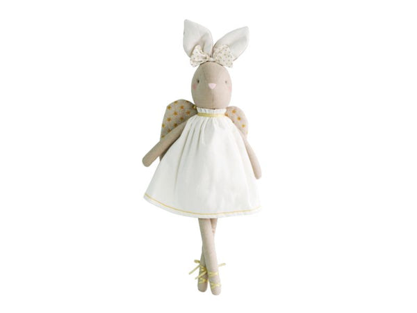 Doll - Abby Angel Bunny - Ivory, Rose
