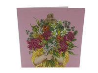 Greeting Card - Girl Bouquet