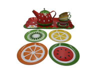 Tea Set - Tin Fruit - Small