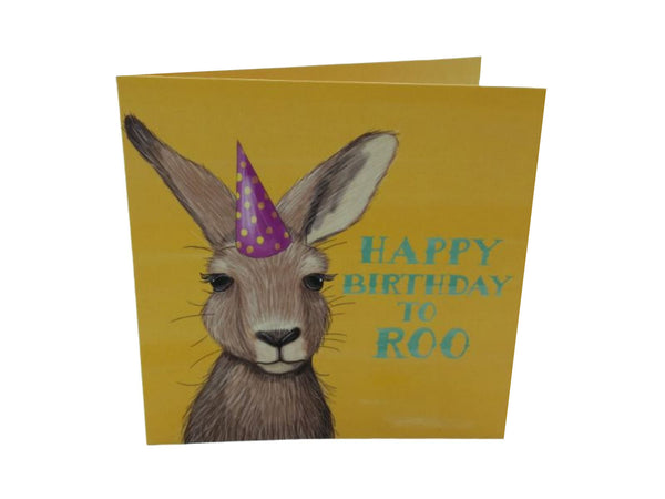 Greeting Card - Happy Birthday To Roo