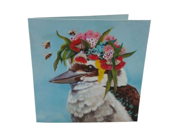 Greeting Card - Kookaburra Bees