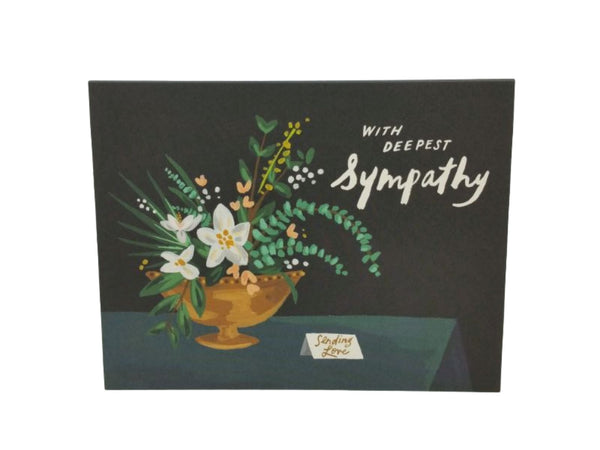 Greeting Card - Deepest Sympathy