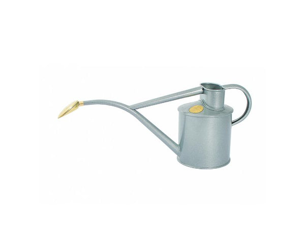 Watering Can - Rowley Ripple, 1Litre - Titanium, Duck Egg Blue