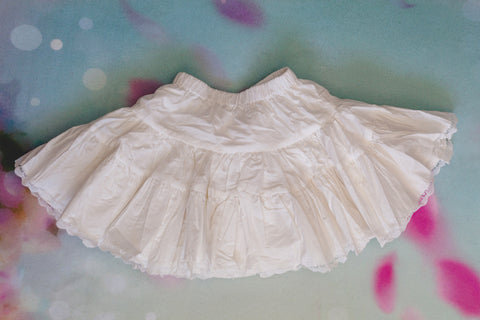 RENTAL - Eternal Cotton Pettiskirt - Size: 4