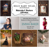 COMBO- Newborn & Maternity Mastery Workshop with Emma Baker - 10th October 2020 - Romsey VIC - DEPOSIT