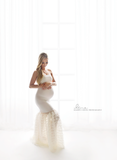RENTAL - Bastante Dress - IVORY (10-14) (4 Days)
