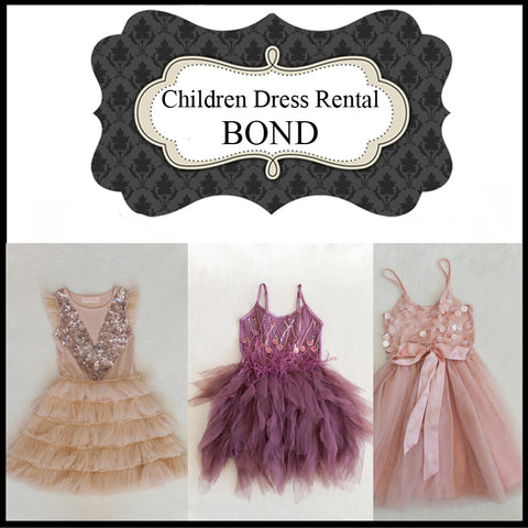 RENTAL - CHILDRENS DRESS - BOND