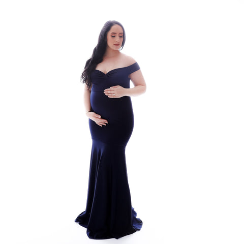 Bluebelle Maternity Gown