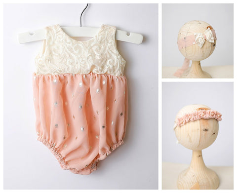 PRE-ORDER The Dottie Newborn Romper