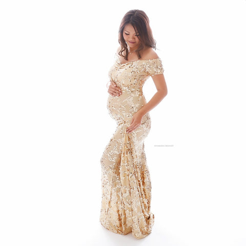 PRE-ORDER - Shimmer Luxury Gown