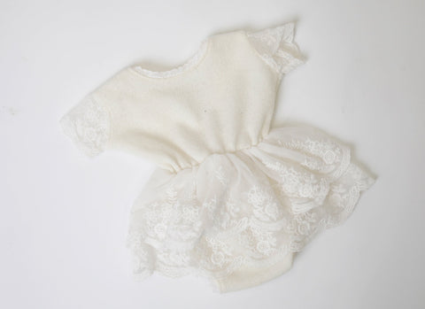 PRE-ORDER Lily Newborn Romper Dress