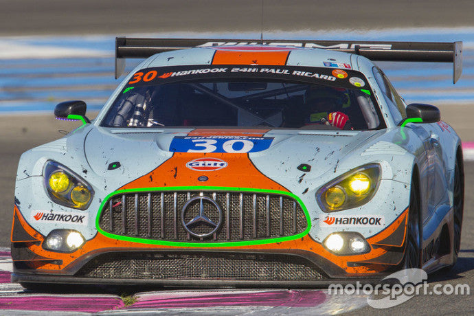 AMG GT3 - Ram Racing #30 2016 P2 24hr Paul Ricard