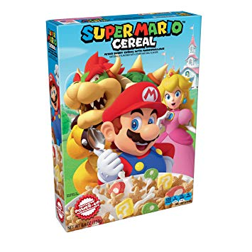 Kellogg's Super Mario Cereal 8.4 oz
