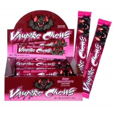 Vampire Chews - Sour Strawberry - each