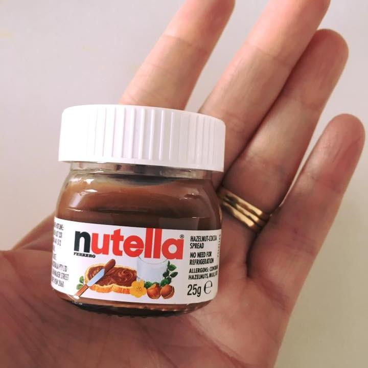 Nutella Glass Jar 25g