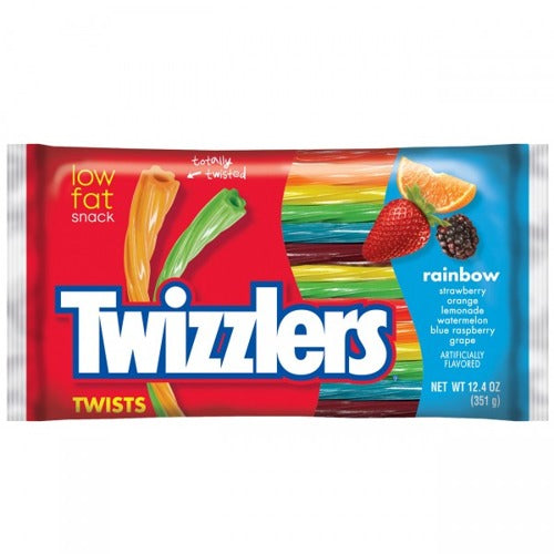 Twizzlers GIANT Rainbow candy straws 351g