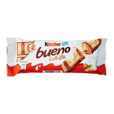 Kinder Bueno White 39g - each
