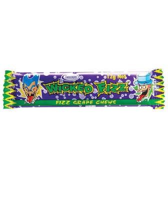 Wicked Fizz - Fizz Grape Chew (each)