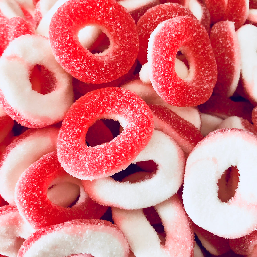 Strawberry O Rings 200g